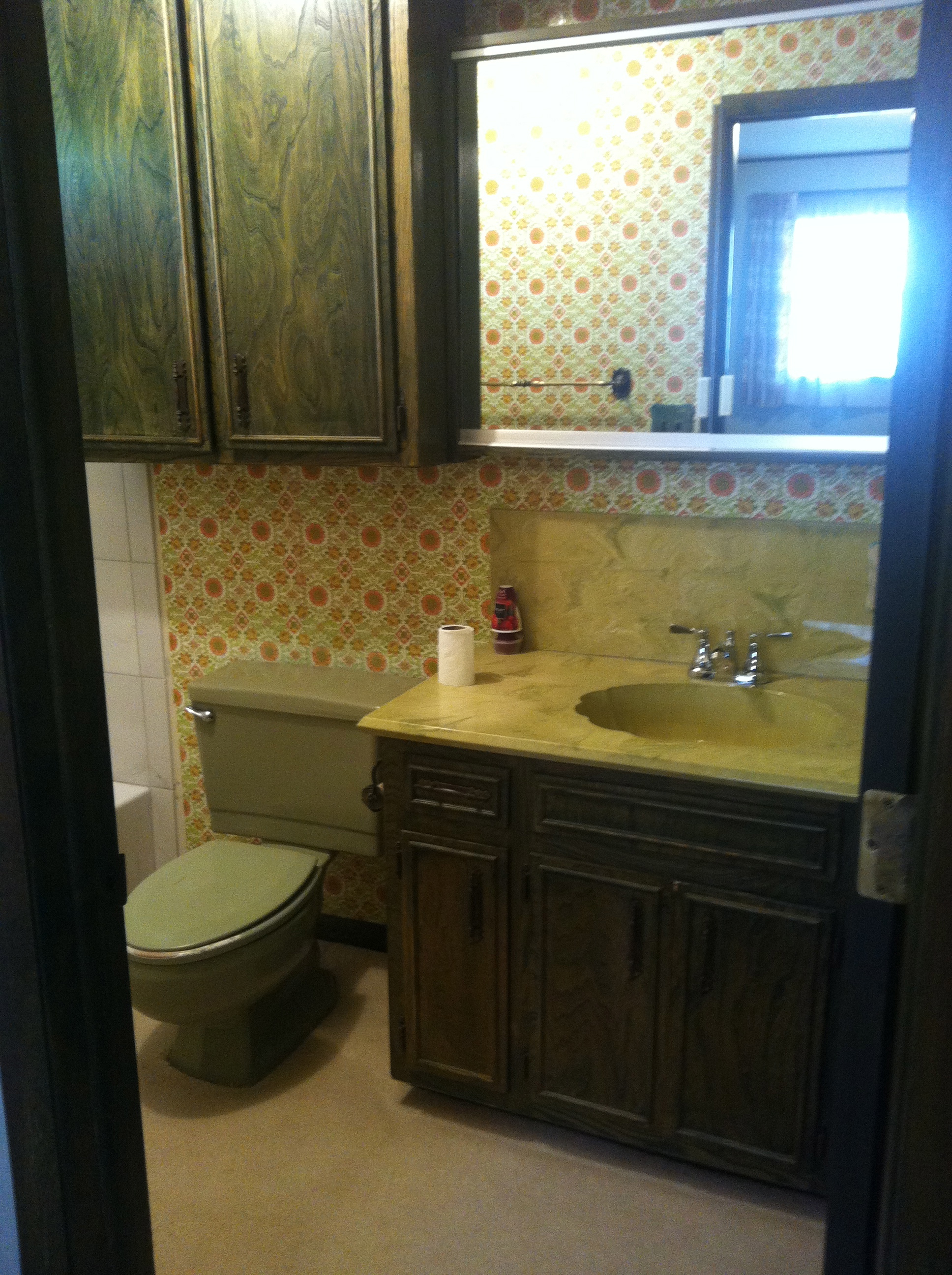 Aged Bathroom Countertop Dilemma