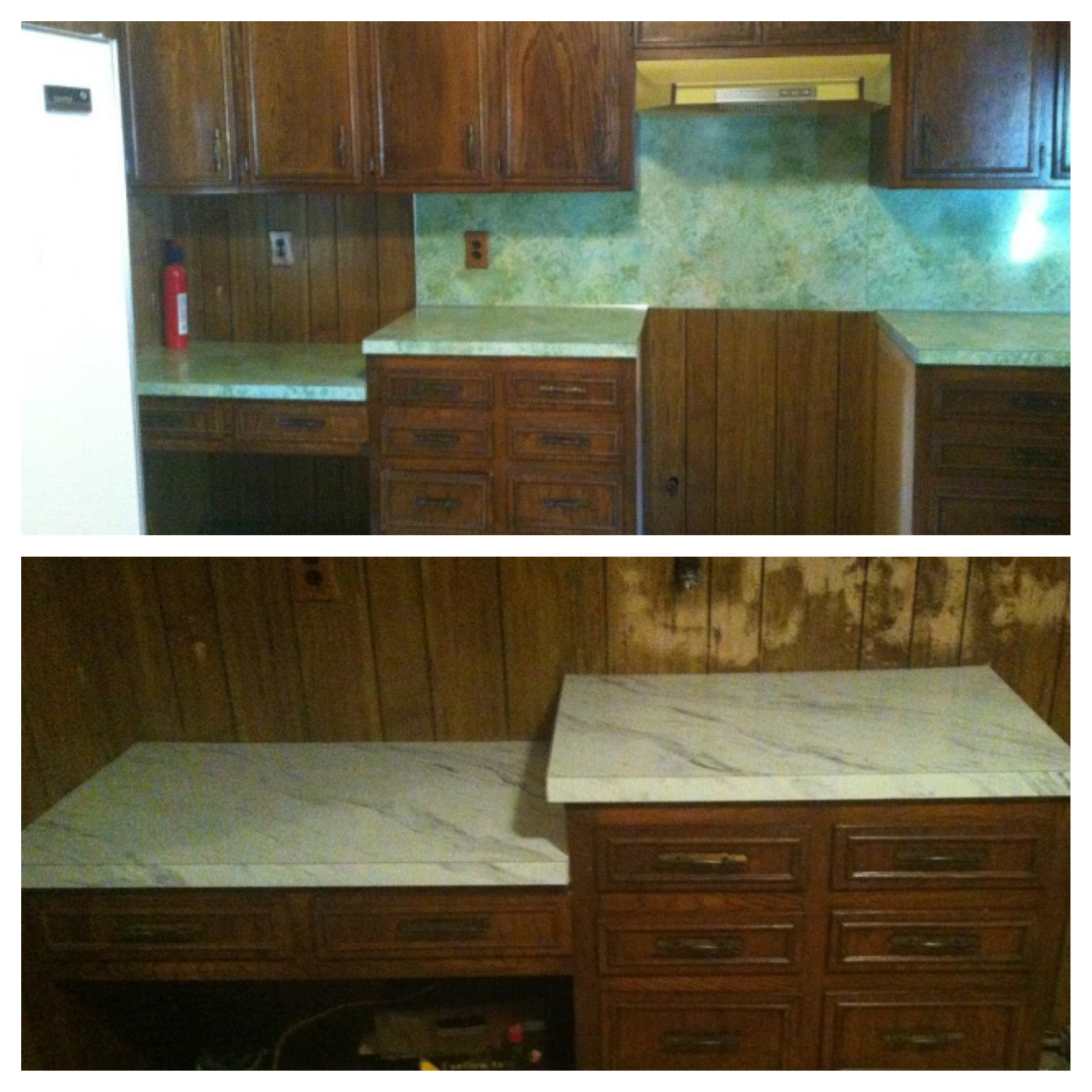 The New Countertops