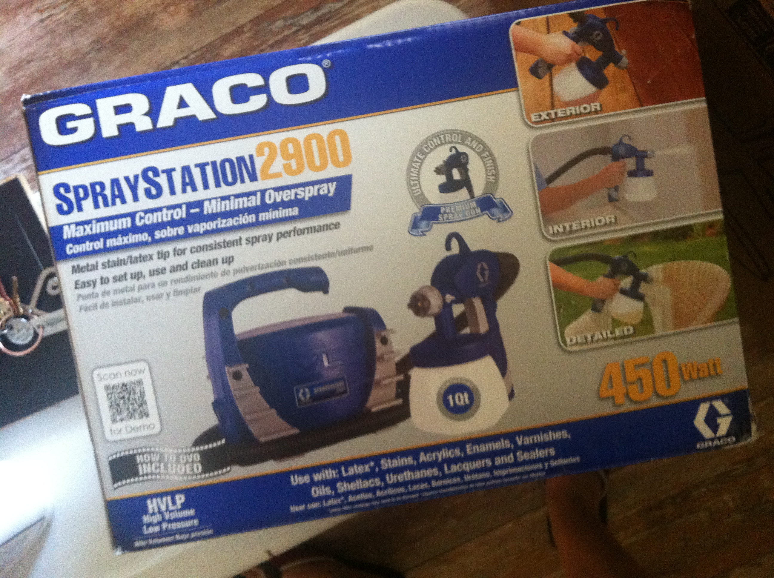 My Review of Graco Spray Station 2900