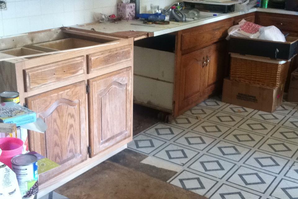 Kitchen Layout Change
