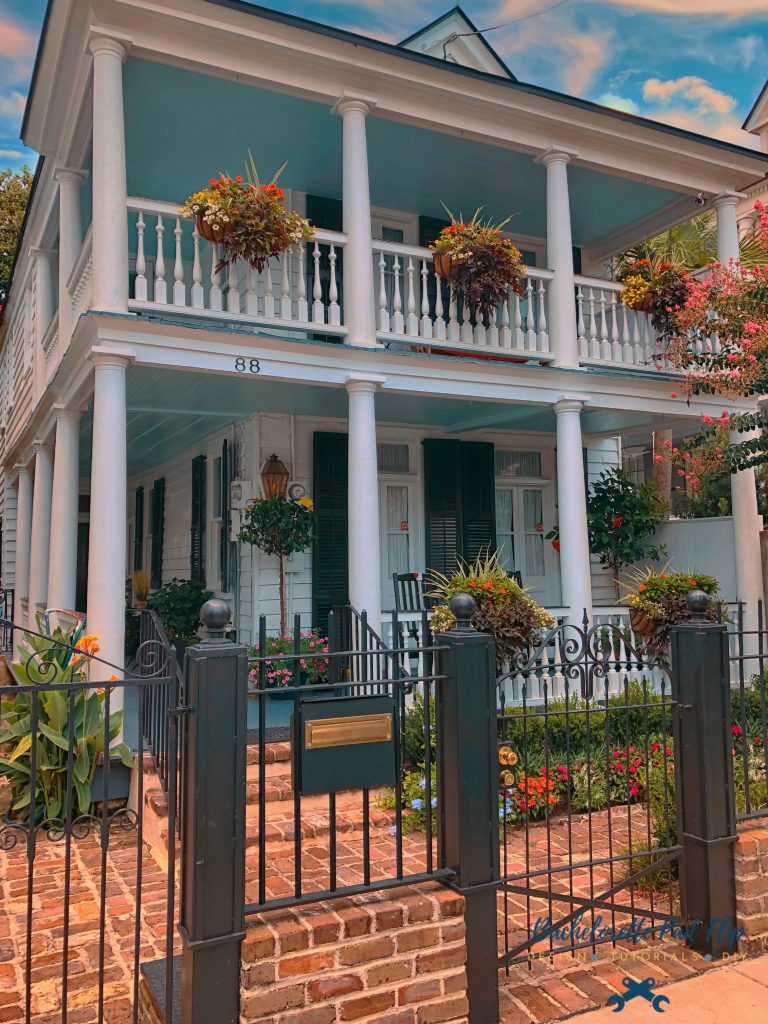 Historic Downtown Charleston Curb Appeal
