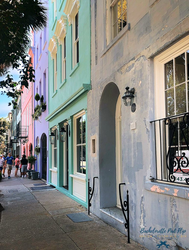 Historic Downtown Charleston Rainbow Row