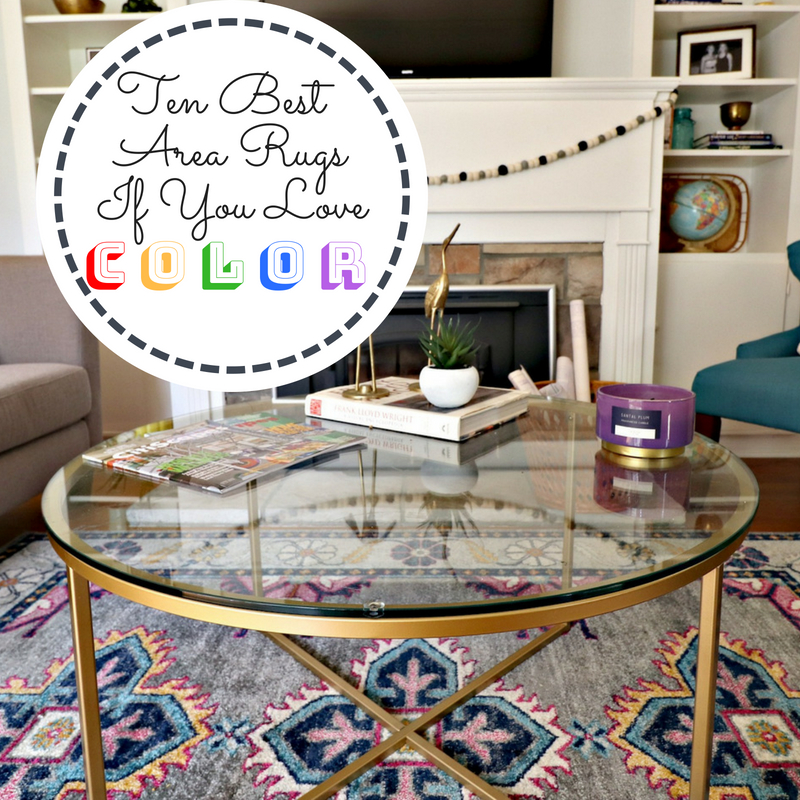 Ten Best Area Rugs If You Love Color