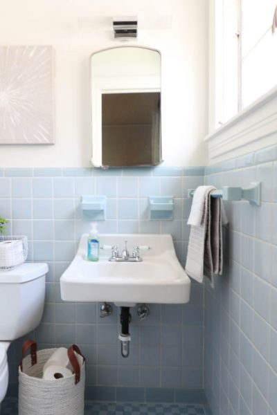 Weekend Bathroom Refresh