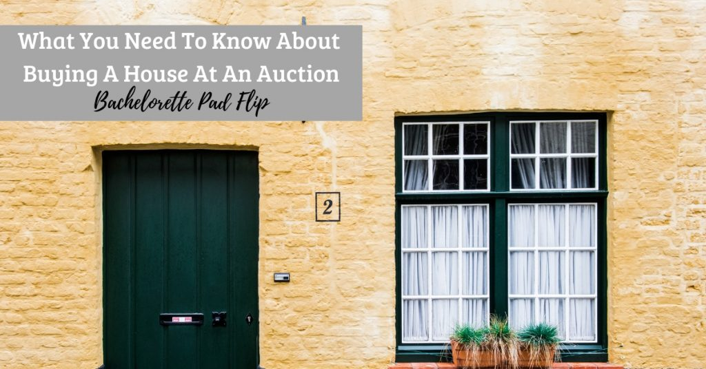 foreclosure auction house