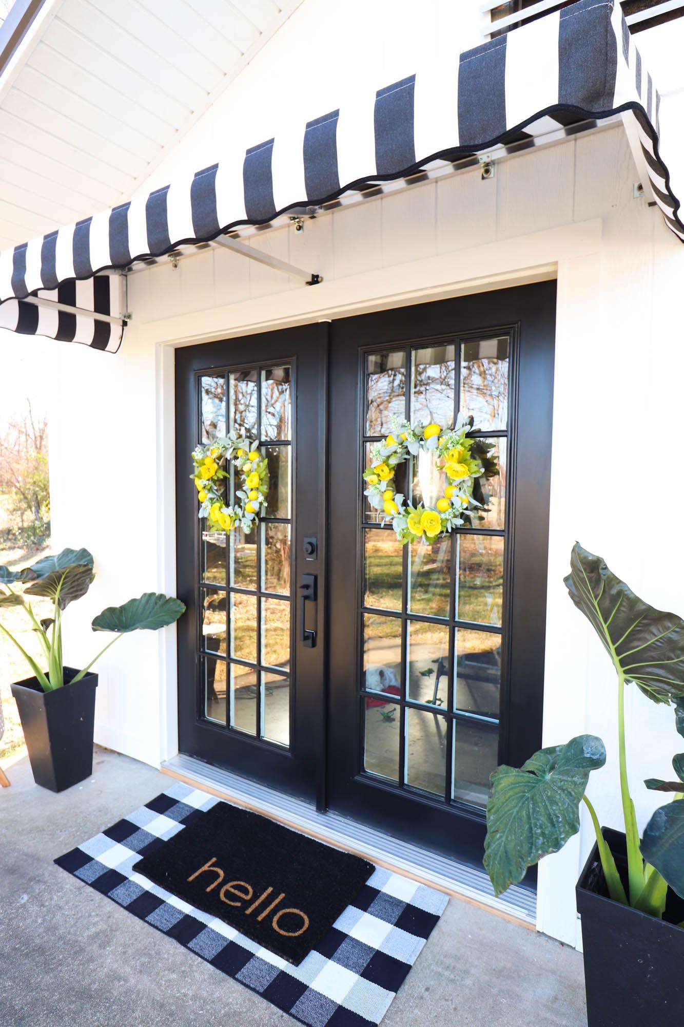 canopy front door