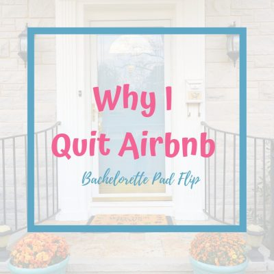 Why I Quit Airbnb