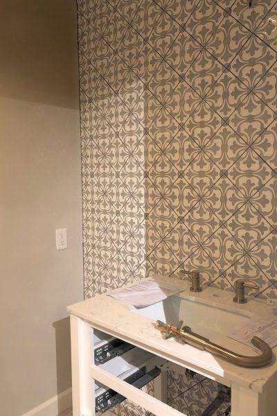 Jeffrey Court Bathroom Renovation- Week 5