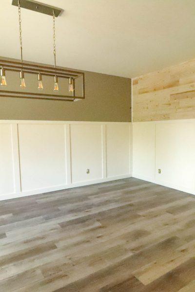 Updating Boring Walls With Woody Walls