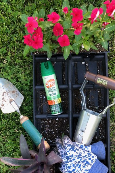 Tackling Summer Curb Appeal Projects with Off!® Products And Home Depot