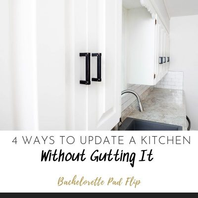 Updating A Kitchen Without Gutting It