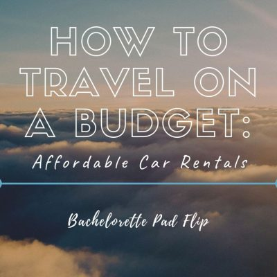 How To Travel On A Budget: Affordable Car Rentals
