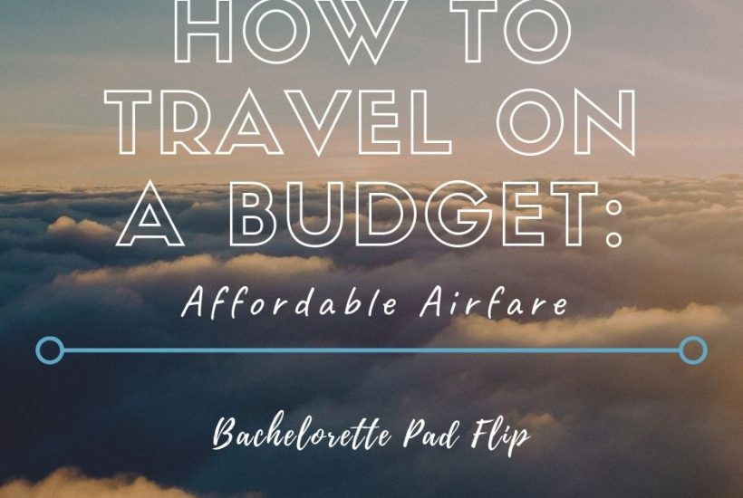 how to find affordable airfare