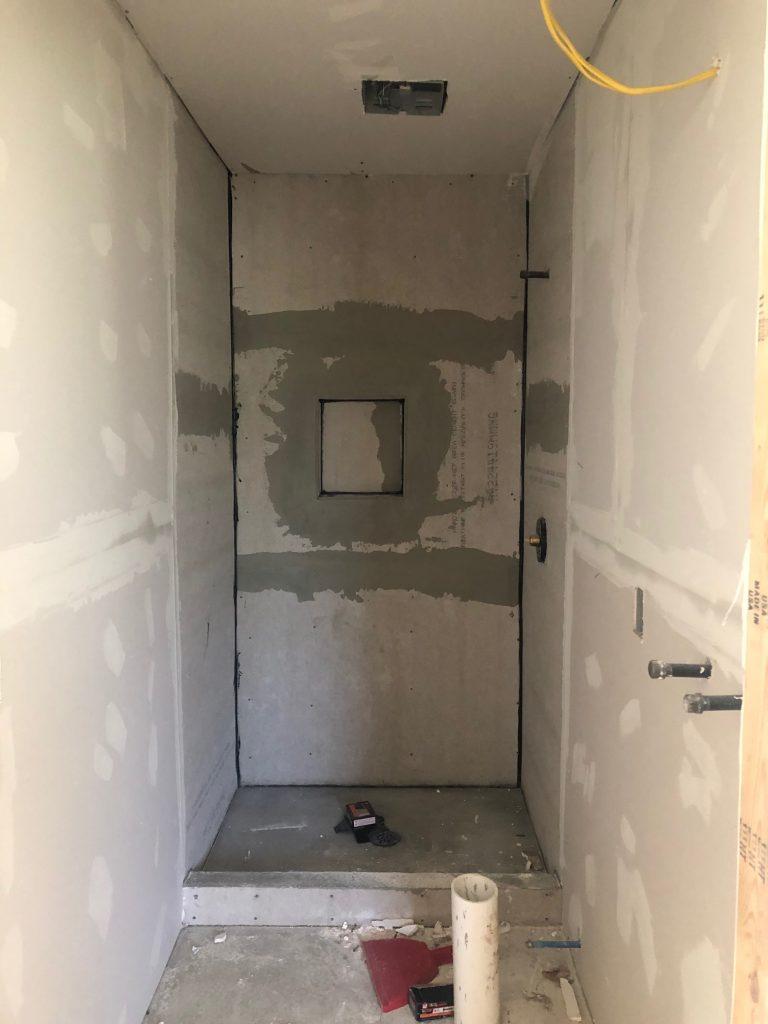 custom shower walls