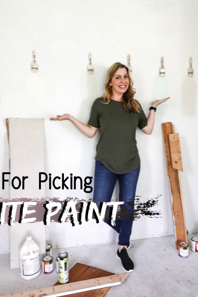 Tips For Picking White Paint Colors