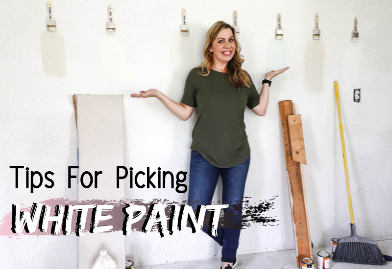 white paint color tips