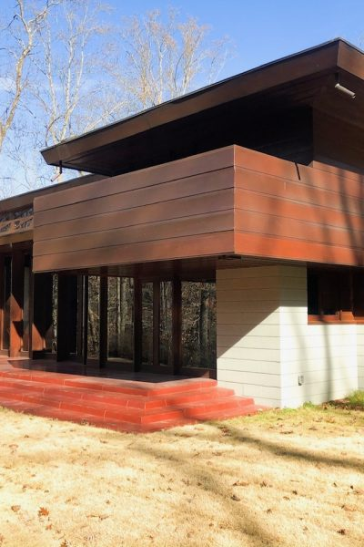 Touring Frank Lloyd Wright's Bachman-Wilson House