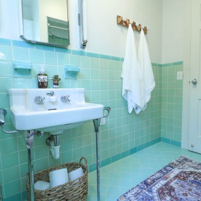Styling A Vintage Bathroom