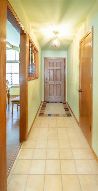 dated hallway entryway