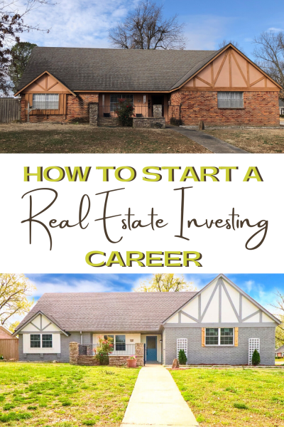 How To Start A Real Estate Investing Career